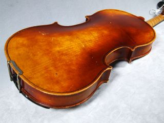 Karl Hofner 1961 Vintage Violin 4 4 Germany Case 2 Bows