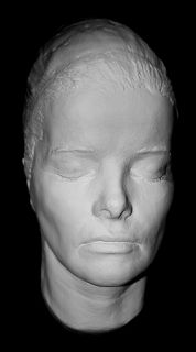 Katharine Hepburn 3 4 Head Life Mask c1930s Life Cast Light Weight