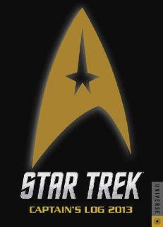 Star Trek Captains Log Stardate 2013 Engagement Calendar New Unused
