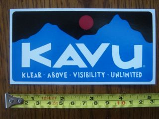 Kavu Shirt Sticker Decal Rectangle