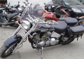 New 23 5 Tall Chopper Windshield for Kawasaki Vulcan VN800 VN900