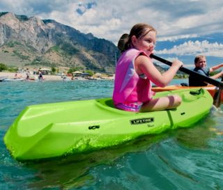 New Lifetime 8 Adult / 6 Youth Kayak Combo Pack