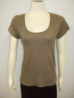 Kate Moss Top Shop $70 Chainmail Panel Tee Shirt M