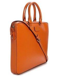 Kate Spade $395 00 Wellesley Leather Tanner Laptop Bag Case Briefcase