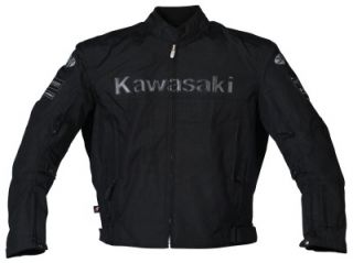 Joe Rocket Kawasaki ZX Mens Textile Motorcycle Jacket Black Large L
