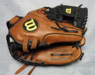 "Wilson AD700 MLB Ecco 11 1 2"" Leather Baseball Glove Little League"