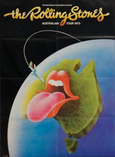Program Australia Tour Book Mick Jagger Keith Richards RARE