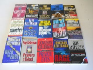 Lot of 43 Jonathan / Faye Kellerman Suspense Paperback Books ~ Alex