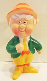 Keebler Elf Ernie 1974 Vinyl Adverising Ad Figure 6 Characer Doll
