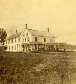 Saranac Lake, Prospect House, Adirondack Woods, by Baldwin, Keeseville