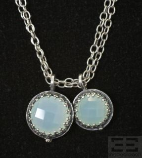 Becky Kelso Sterling Silver Chain Calcite Pendant Necklace