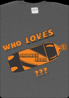 Who Loves Orange Soda T Shirt Kenan and Kel New Halloween