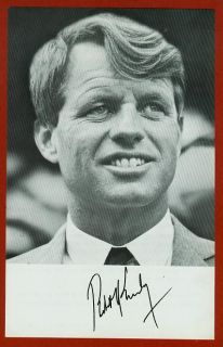 Flyer Viet Nam Robert F Kennedy 1968 in Light Colored Suit