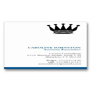 Executive blue stripe custom logo professional business card templates