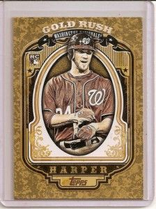 LOT OF  2  2012 TOPPS SERIES 2 GOLD RUSH FACTORY SEALED UNOPENED PACKS