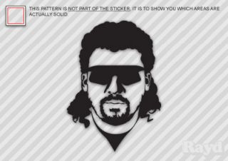 2X Kenny Powers Sticker Decal Eastbound Down