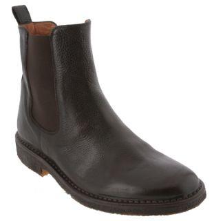 Ralph Lauren Mens Dark Brown Soft Vachetta Kelton Boots