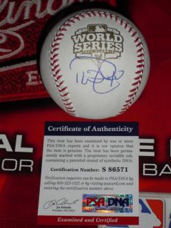 Phil Coke Signed 2012 World Series Baseball Detroit Tigers PSA DNA MLB