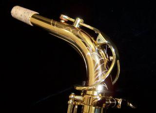 New Kessler Custom Jazz Handmade Alto Sax Red Brass