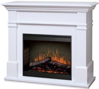 Dimplex Kenton Electric Fireplace Package White SMP 130 w St New