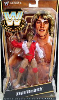 WWE Legends Series 6 Kevin Von Erich Figure NIP Mattel 2011 Wrestling