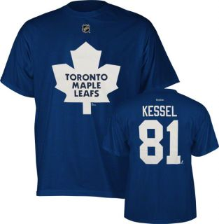 Phil Kessel Blue Reebok Name and Number Toronto Maple Leafs T Shirt