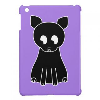 Cute Black Cat. iPad Mini Covers