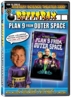 Rifftrax Plan 9 from Outer Space New SEALED DVD MST3K