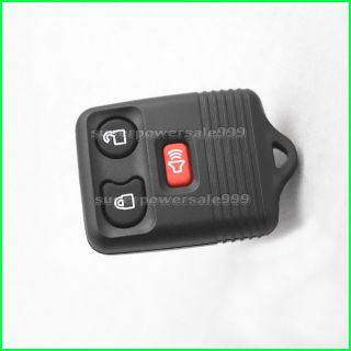 Entry Remote Fob PAD Key Shell Case For Ford Lincoln Mercury 3BT T0096