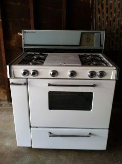 vintage retro 1960s 1970s gaffers u0026 sattler magic chef stove gas oven