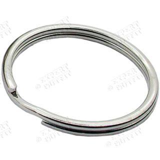 50 Lot Keychain Split Key Rings 1 24mm Keyrings Wholesale CLOSEOUT