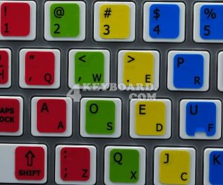 Learning Keyboard stickers are designed to improve your productivity