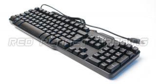 New Genuine Dell Spanish Slim Black USB Keyboard Teclado DJ415 SK 8115