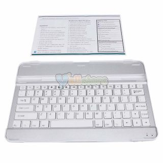 Aluminum Bluetooth Keyboard Case for Samsung Galaxy Tab 10 1 P7500