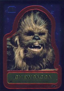 Star Wars Chrome Archives Double Sided Chrome Card D5
