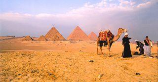 Pyramid Giza Egypt Africa Resin 3D Fridge Magnet