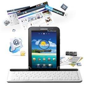 New Samsung Galaxy Tab Full Size Keyboard Dock