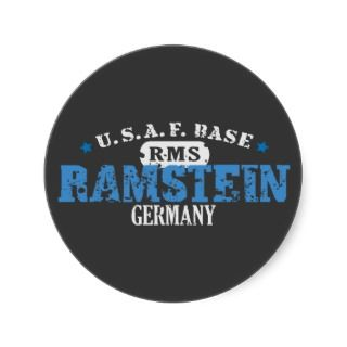 Air Force Base   Ramstein, Germany Sticker