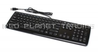 Genuine Acer USB Glossy Piano Black Multimedia Desktop Keyboard KU