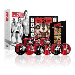 RKS Reinhardt Kettlebell System 9 DVD Set 16 Workouts Plus Guides New