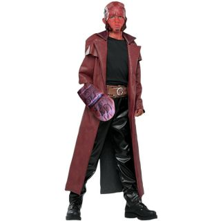 Hellboy Child Costume Hell Boy Demon Red Demon Superheroes