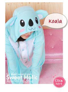 Sweet Holic Animal Pajama Fancy Dress Adult Kid Costume