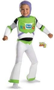 Toy Story Deluxe Buzz Lightyear Costume Child Boy Halloween Kids