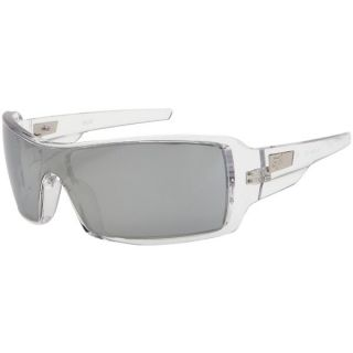 New Fox Racing The Duncan Sunglasses Crystal Clear Chrome Iridium 30