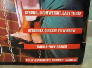 Kidde Fire Escape Chain Ladder Home Safety 2 Story 15