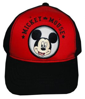 Face Embroidered Adjustable Boys Youth Kids Baseball Hat Cap