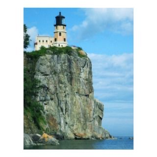 Split Rock Lighthouse Letterhead Template