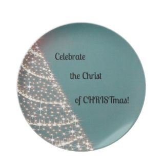 Celebrate the Christ of CHRISTmas Plates