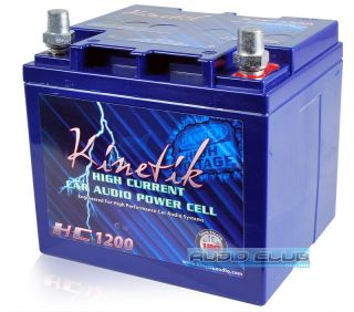 Kinetik HC1200 1200 Amp 12V High Current Car Audio Heavy Duty Power