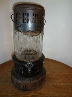 Antique Vintage Perfection Oil Heater Stove Glass